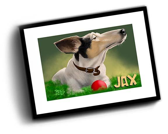 Jax In Frame by Beasts of Baldwin