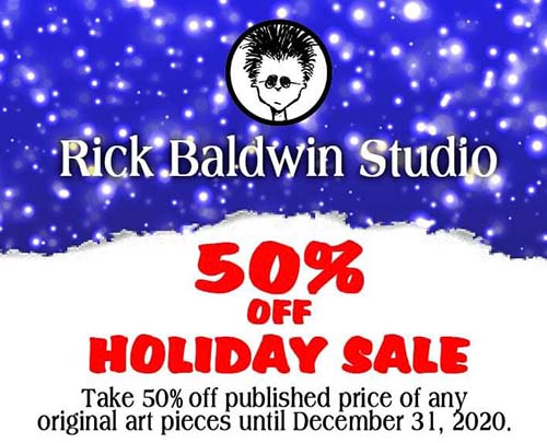 50% Holiday Sale