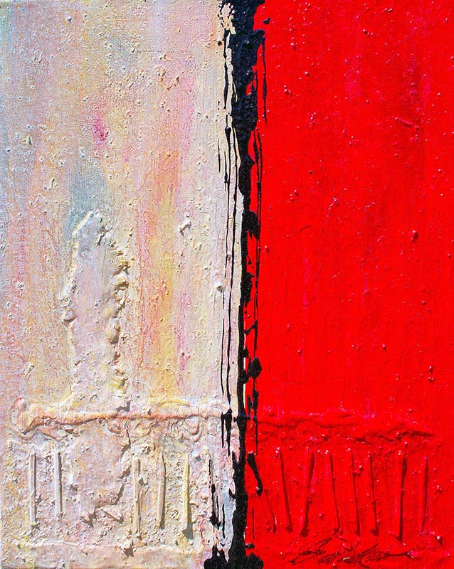 Abstract #200803 fine art by Rick Baldwin