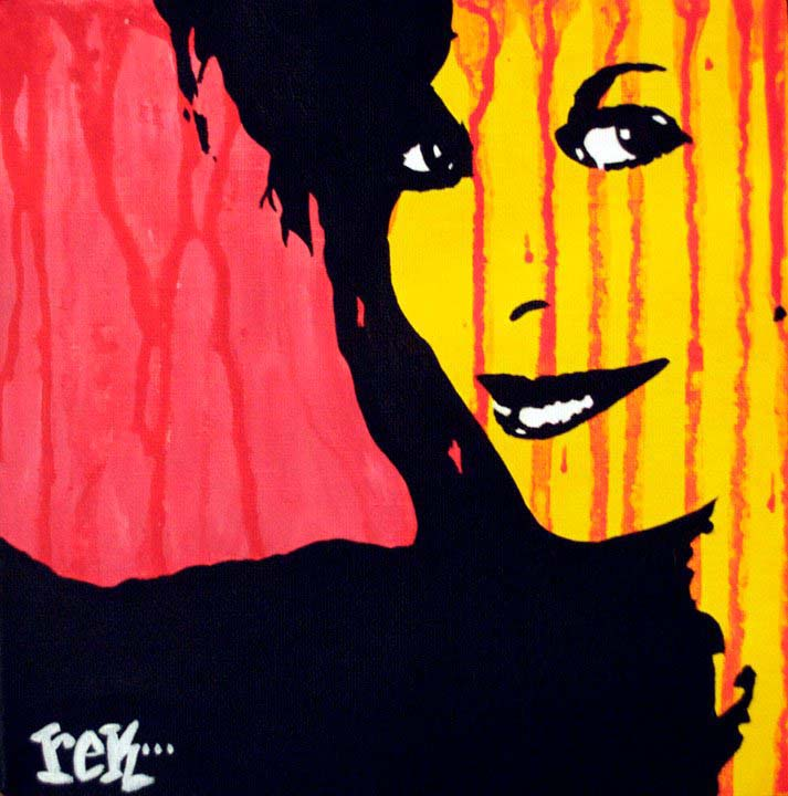 Forever Your Girl fine art by Rick Baldwin.