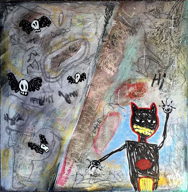 Ladies and Gentlemen, The Devil fine art by Rick Baldwin