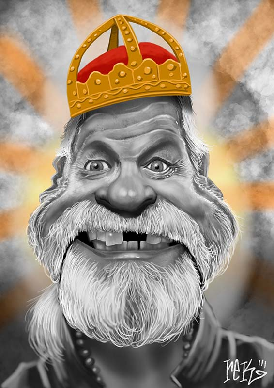 Terry Gilliam Caricature by Rick Baldwin